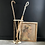 Thumbnail: Late Victorian Cast Iron and Bamboo Umbrella and Cane Stand