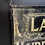 Thumbnail: Glorious 1930's Double Sided Glass Sign