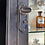 Thumbnail: Glass and Metal Surgery Display Cabinet