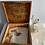 Thumbnail: Rare Vintage Haberdashers Advertising Display Box with Original Key