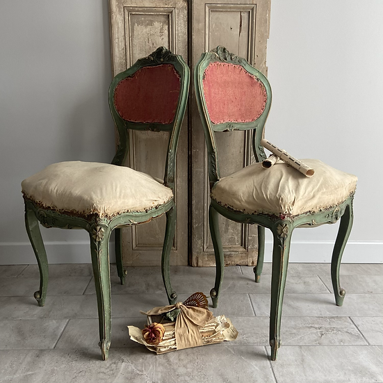 Exquisite Deconstructed French Musicians Chair Napoleon III