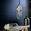 Thumbnail: Vintage Ceramic Top Russian Industrial Pendant Light #2