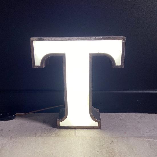 Vintage Illumunated Letter T