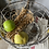 Thumbnail: Small Rustic Vintage Brocante Style Wire Basket