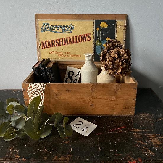 Vintage Murrays Marshmallows Display Box