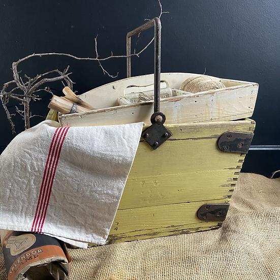 Vintage Rustic Housekeepers/Gardeners Trug