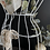 Thumbnail: A Stunning French Vintage Wire Ladies Retail Standing Bust