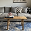 Thumbnail: Two Seater Rustic Elm Bench/Coffe Table #1