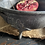 Thumbnail: Unusual Little Pewter Bowl on Four Feet