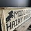 Thumbnail: A Unique Double Sided Hand Painted Wooden Sign