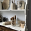 Thumbnail: Large White French Chippy Wall Shelves