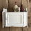 Thumbnail: Small White Chippy Paint Wall Cupboard