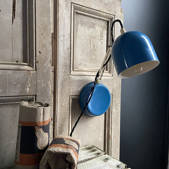 An Unusual Vintage Russian Travel Lamp