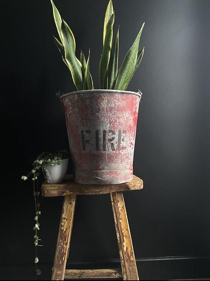 Genuine Vintage Fire Bucket