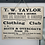 Thumbnail: A Vintage Cardboard Shop Advertising Sign