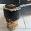 Thumbnail: Rare Low Antique Circular Occasional Pedestal Table