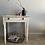 Thumbnail: Gorgeous Vintage Chippy White Table