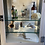 Thumbnail: Large Vintage Metal and Glass Shop Display Cabinet