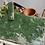 Thumbnail: Green Chippy Paint Rustic Trug