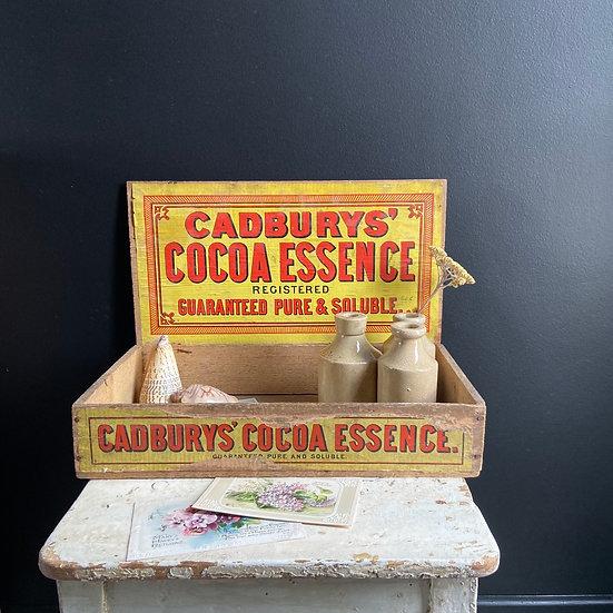 Cadbury's Cocoa Essence Delivery Crate