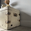Thumbnail: Gorgeous Vintage Chippy White Trunk