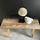 Thumbnail: Two Seater Rustic Elm Bench/Coffe Table #2