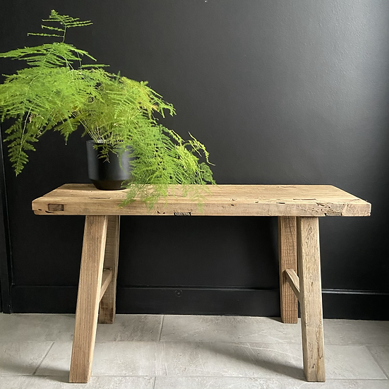 Rustic Elm Bench/Coffee Table