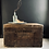 Thumbnail: Antique Wooden Trunk With Original Typography