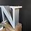 Thumbnail: Vintage Illuminated Shop Sign Letter N