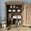 Thumbnail: Rustic Antique Pine Wall Cupboard