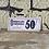 Thumbnail: Vintage Cardboard Shop Sign