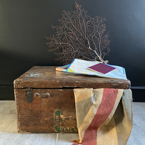 Small Vintage Travelling Trunk