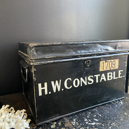 A Quirky Antique Solicitors Deed Box