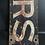 Thumbnail: Vintage Original Ushers Sign