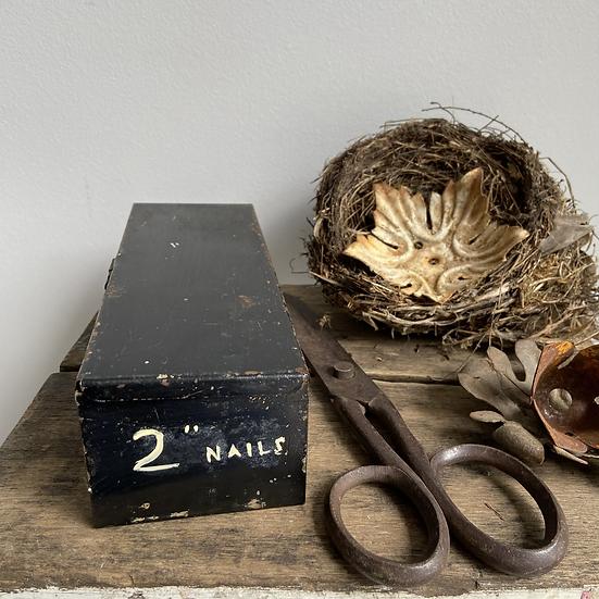 """Vintage Tin 2"""" Nails"""