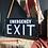 Thumbnail: Large Black Vintage Emergency EXIT Light Box Lamp