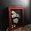 Thumbnail: Vintage  School Notice Board with Glass Door