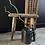 Thumbnail: Vintage Rustic Hungarian Stick Stool