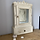 Thumbnail: A Unique French Tramp Art Style Mirrored Cabinet