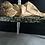 Thumbnail: A Stunning Vintage Chippy Green and White Bobbin Leg Table