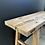 Thumbnail: Rustic Weathered Elm Bench/Table