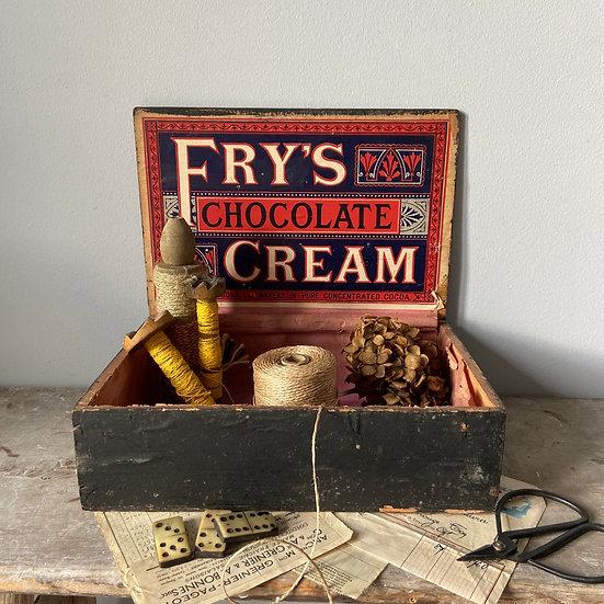 Fry's Chocolate Cream Display Box