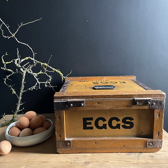 1930's Vintage Raylite Egg Crate