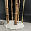 Thumbnail: Late Victorian  Cast Iron and Bamboo Umbrella Stand