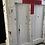 Thumbnail: Heavy Oak Chippy Paint Cabinet