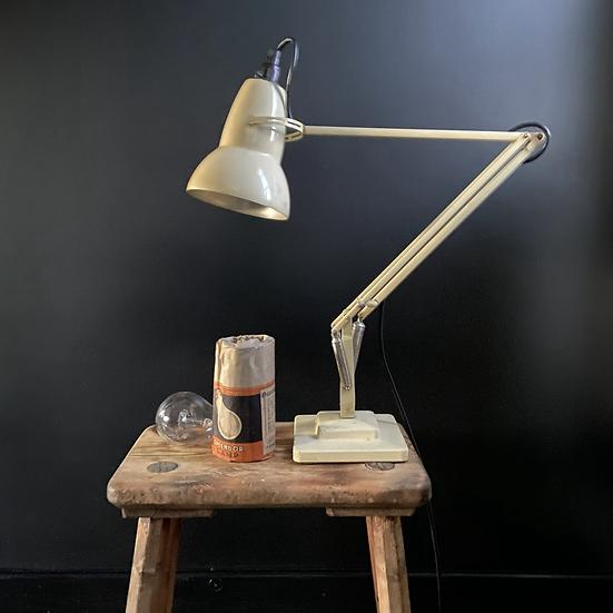 Genuine Herbert Terry Two Step Cream Anglepoise Lamp