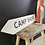 Thumbnail: Vintage Girl Guide Camp Hand Painted Double Sided Sign