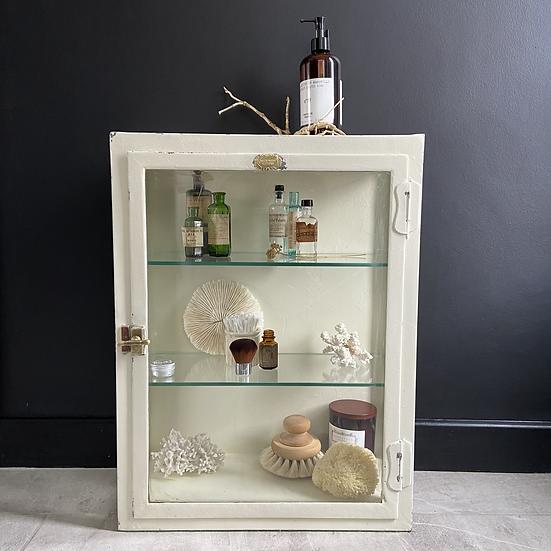 A Genuine Large Vintage Hockin Wilson Shop/Surgery Cabinet