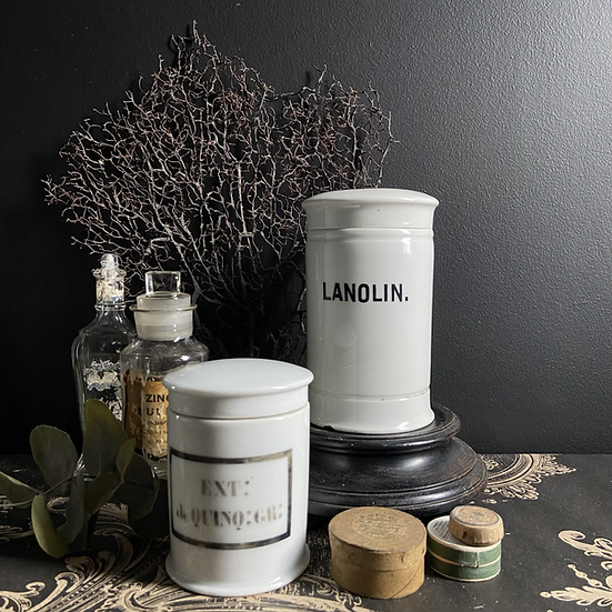 French Vintage Pharmacy Canister