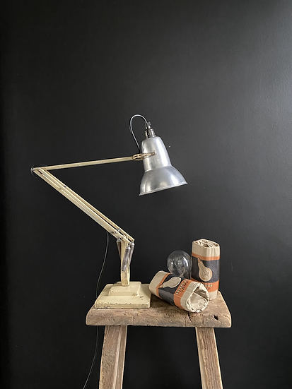 A Genuine Vintage Two Step Herbert Terry Anglepoise Lamp